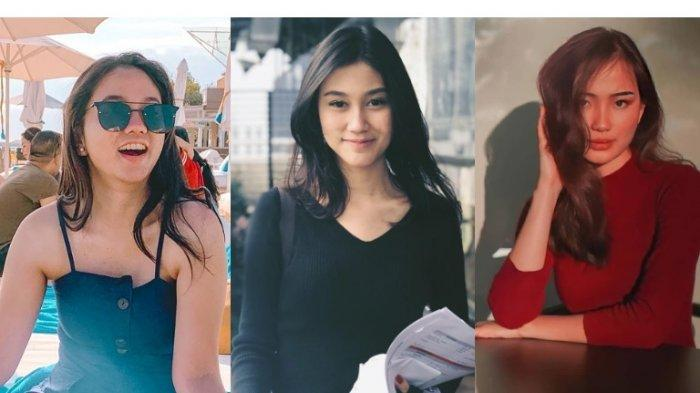 Profil dan biodata finalis babak tiga besar sinetron Ikatan Cinta, (dari kiri) Farah Nabila, Regina Kandou, Evelina Watanama