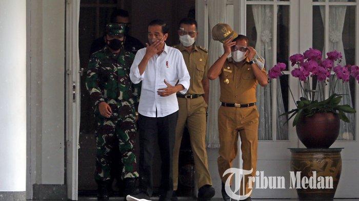 Jokowi Minta Bupati dan Wali Kota di Sumut Percepat Realisasi Belanja Daerah