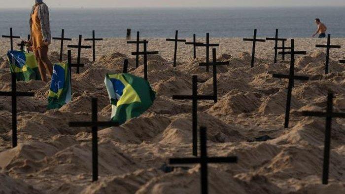 Brazil Menuju Angka Kematian Tertinggi Corona, Tembus 1 Juta Kasus, ICU & Tempat Tidur Pasien Sesak