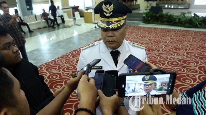 Berita Foto: Gubernur Sumut Edy Rahmayadi Melantik Penjabat Bupati Pakpak Bharat Asren Nasution - 17022020_pelantikan_bupati_pakpak_bharat_danil_siregar-1.jpg