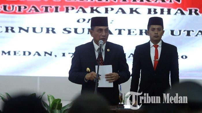 Berita Foto: Gubernur Sumut Edy Rahmayadi Melantik Penjabat Bupati Pakpak Bharat Asren Nasution - 17022020_pelantikan_bupati_pakpak_bharat_danil_siregar-2.jpg