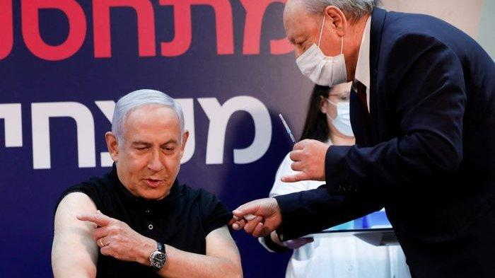 Predana Menteri Israel orang pertama yang divaksin Covid-19.