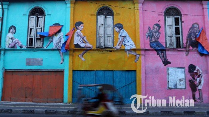 3 Lokasi Mural Unik di Medan, Cocok Untuk Jadi Spot Foto Menarik