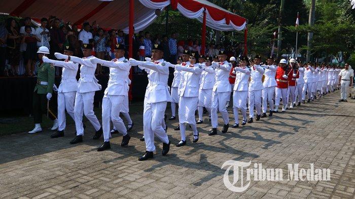 23 Paskibraka Positif Covid-19, Kabupaten Langkat Akan Tetap Kibarkan Bendera Merah Putih di HUT RI