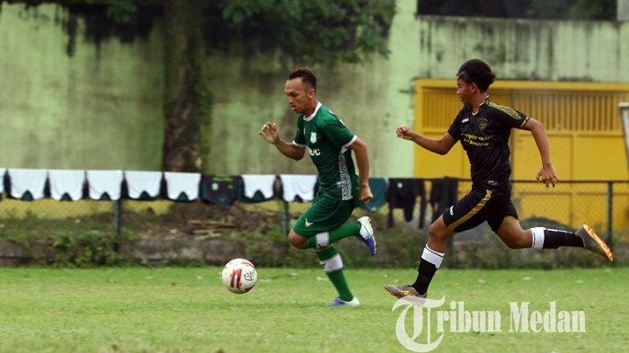 PSMS Medan Latihan di Stadion Teladan sebelum Bertolak ke Palembang