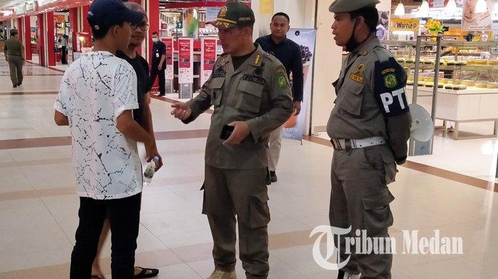 Antisipasi Penyebaran Virus Corona, Petugas Satpol PP Akan Patroli di Pusat Keramaian di Sumut