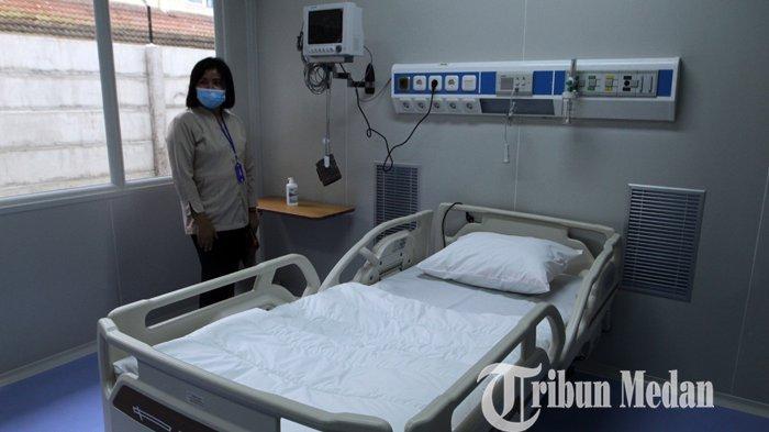 Pasien Covid-19 Makin Ramai, RSUP Adam Malik Tambah 33 Ruang Isolasi, Cuma 1 Alat Swab Layak Pakai