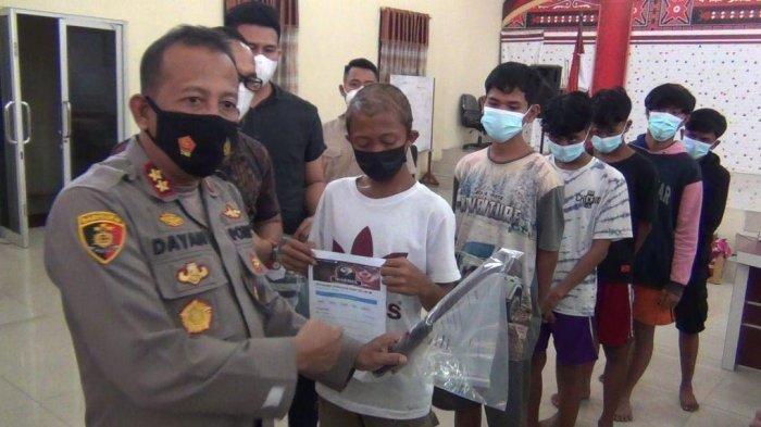 21 Remaja Ditangkap Polisi, Diduga Provokator Tawuran Belawan, Punya Ribuan Anggota Grup FB