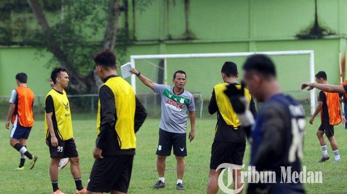 Paulo Sitanggang tak Tampak Dalam Sesi Latihan PSMS dan Tim PON, Ini Kata Ansyari Lubis