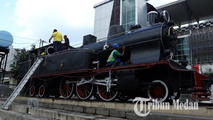 Lokomotif Tua, Saksi Sejarah Kereta Api Medan