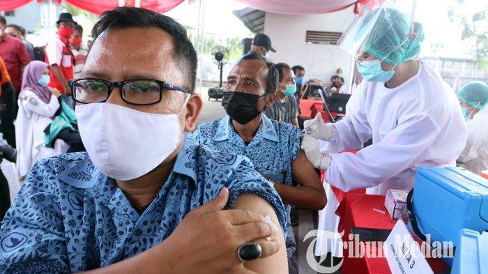 BREAKING NEWS: Awal Maret 2021, Vaksinasi untuk Lansia di Atas 60 Tahun Dilakukan di Kota Medan