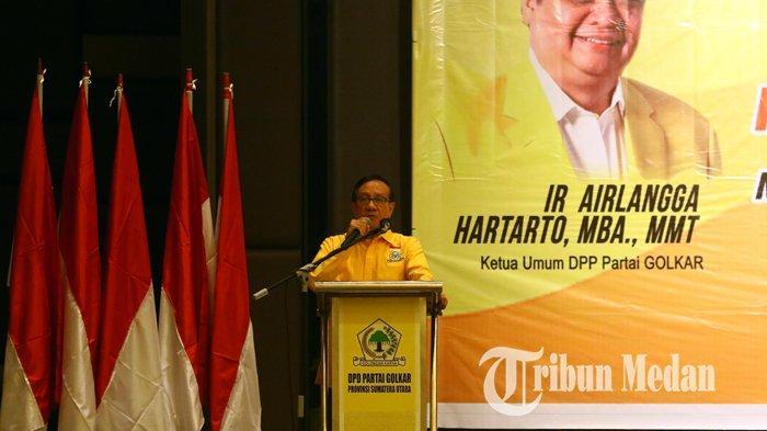Akbar Tanjung Sebut Airlangga Sukses Pimpin Golkar Menuju Kemenangan