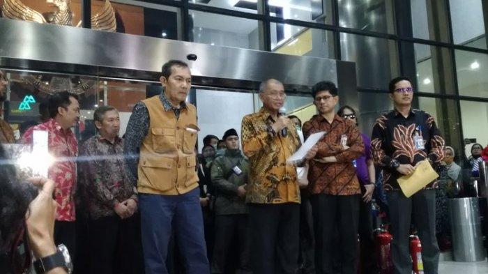 KPK TERKINI, Tiga Pimpinan KPK Mundur, Kembalikan Mandat pada Presiden Jokowi, Basaria  Alex Absen