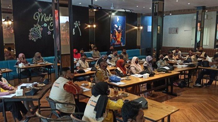 KPU Binjai Kukuhkan 30 Relawan Demokrasi, Duta Pilkada Sekaligus Duta Kesehatan