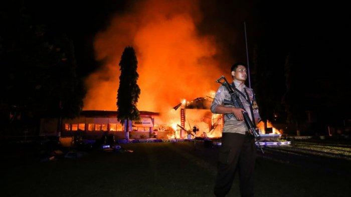 4 Fakta Napi Ngamuk, 100 Lebih Tahanan Kabur Pasca-Gempa dan Tsunami di Donggala - Palu