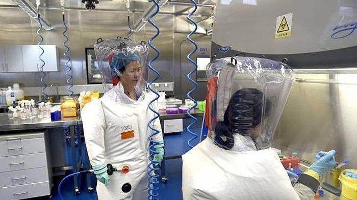 Penelitian virus Corona di Laboratorium yang terdapat di Wuhan, China.