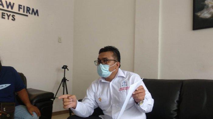 Rinto Maha melaporkan Saut Situmorang dan dua penyidik KPK.
