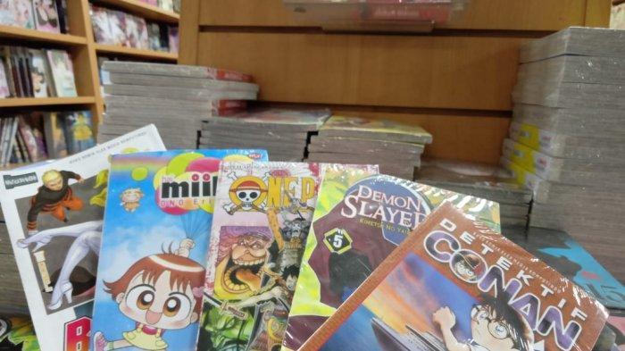 5 Komik Manga Terlaris Di Gramedia Gajah Mada Medan Awal 2021, Bisa Jadi Rekomendasi Bacaan