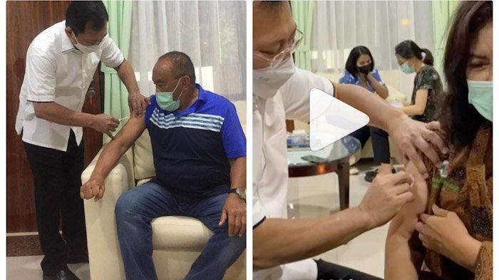 Ajak Istri Disuntik Vaksin Nusantara, Aburizal Bakrie: Saya Percaya Kemampuan Terawan