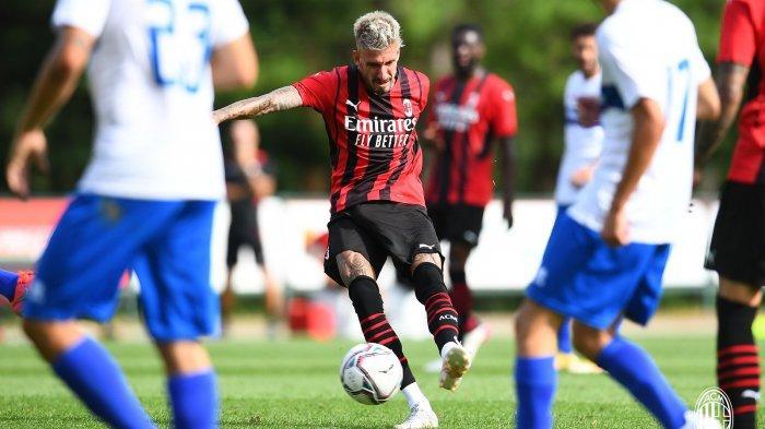 HASIL Pramusim AC Milan, Hujan Gol Hadapi Pro Sesto, Theo Hernandez Diancam Remaja 17 Tahun