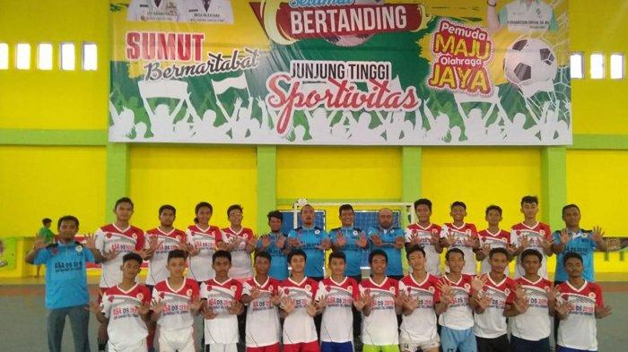 Wakili Sumut di Kompetisi Nasional,Academy SMAN2 Futsal Club Pasang Target Main di Final