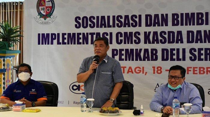 Wabup Ali Siregar Harapkan Kemandirian Keuangan Lewat Layanan CMS Kas Daerah NonSP2D