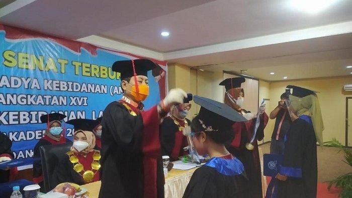 Sekda Indra Minta Bidan Lulusan Akbid Langkat Jalankan Profesi dengan Ikhlas