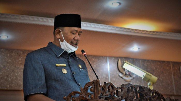 Bupati Sampaikan Tanggapan dari Pandangan Umum Fraksi DPRD Langkat