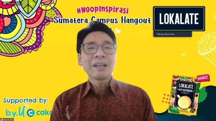 LOKALATE Dukung Kembangkan Potensi Mahasiswa Melalui NgopInspirasi Sumatera Campus Hangout 2021