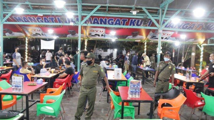 Terapkan PPKM Mikro, Pemko Medan Tertibkan Cafe-cafe di Jalan HM Joni
