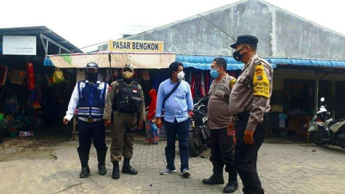 Pemko Medan Lakukan Patroli Prokes dan Pengawasan PPKM Mikro di Pasar Bengkok