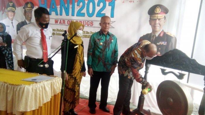Peringati HANI 2021, Di Langkat 17 Desa dan 2 Kecamatan Jadi Bersinar