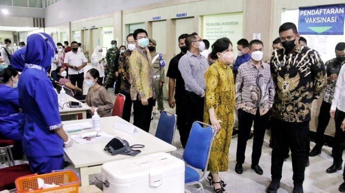 Bobby Nasution Tinjau Fasilitas Tambahan Layanan Covid-19 di RS Royal Prima