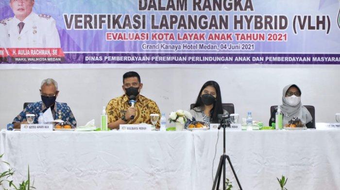 Bobby Nasution Berharap Medan Dapat Menjadi Kota Layak Anak tahun 2021