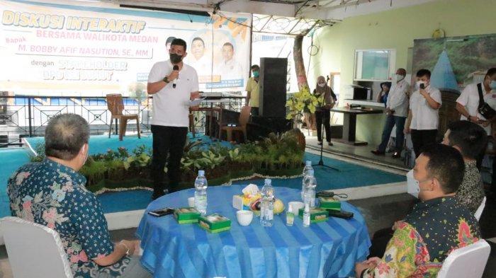 Bobby Nasution Ajak REI Sumut Berkolaborasi Bangun Kawasan Kota Lama Kesawan