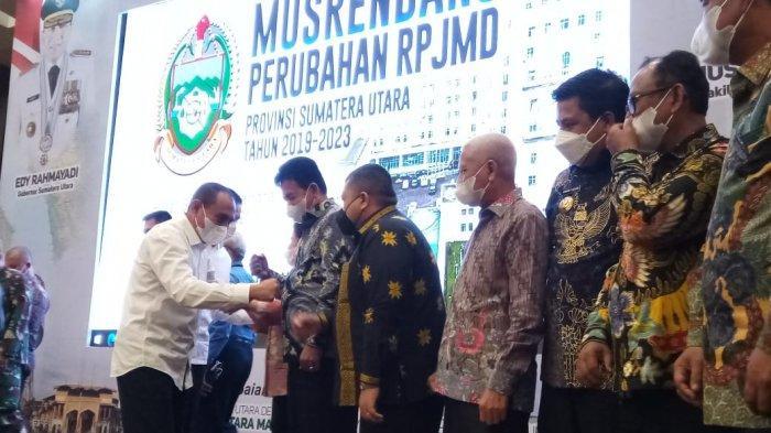 Bupati Langkat Terbit Rencana PA Ikuti Musrenbang Perubahan RPJMD 2019-2023 Provsu