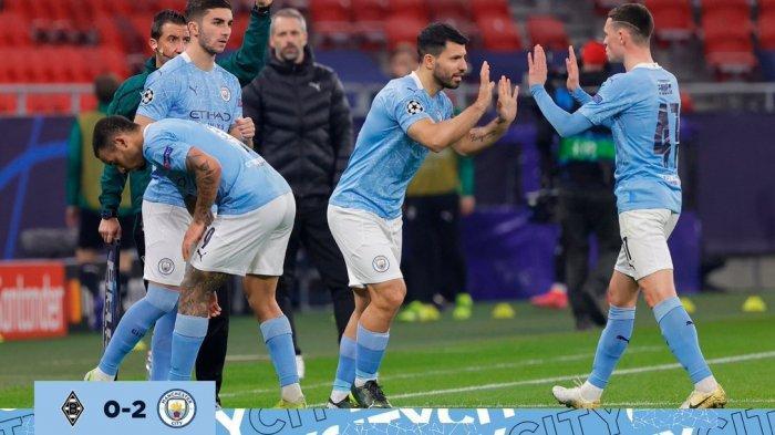 Prediksi Manchester City Vs Dortmund, Demi Kado Indah Sergio Aguero Sebelum Hengkang,Live Vidio.com