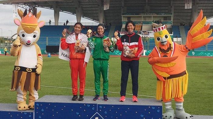 Agustina Manik Raih Medali Emas Kedua, Unggul di Lomba Lari 800 Meter Putri