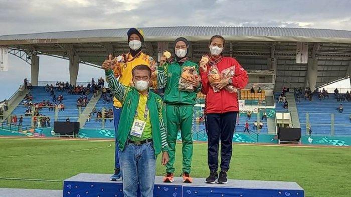 Agustina Mardika Manik Tambah Medali Emas Sumut, Ungguli Atlet Lari NTB dan Jakarta