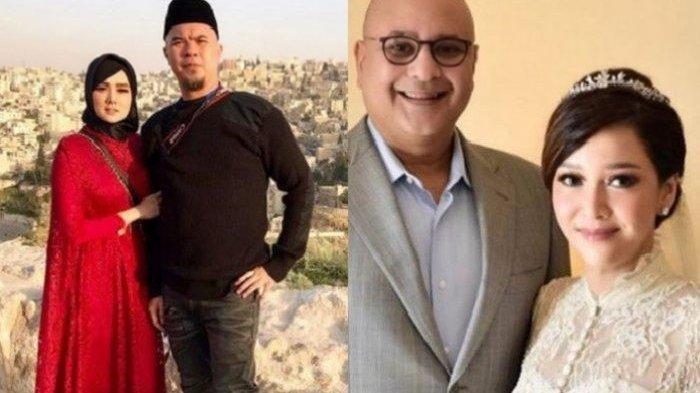 Ahmad Dhani dan Mulan Jameela serta Maia Estianty dan Irwan Mussry