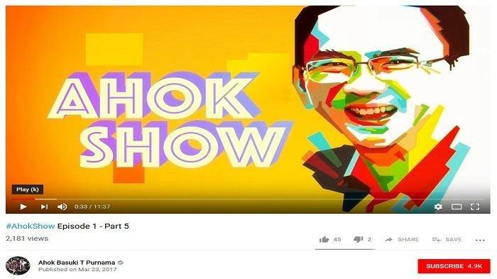 Fakta di Balik Program 'Ahok Show Tayang Sebelum Pilpres 2019,Bocoran Mantan Ajudan Ahok Ima Mahdiah