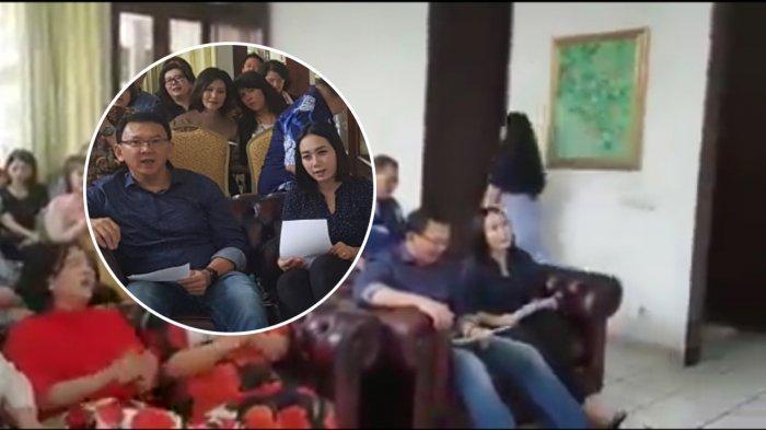 VIDEO Ahok Bersama Perempuan yang Diduga Bripda Puput pada Acara Kebaktian di Ruangan Kecil
