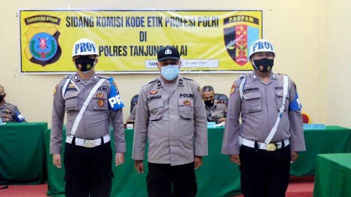 Terlibat Peredaran Narkoba,  Oknum Polisi di Tanjungbalai Dipecat