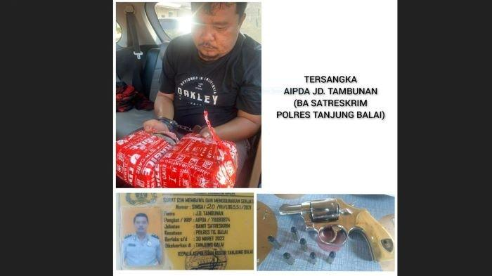 BIKIN MALU, Anggota Polres Tanjungbalai Edarkan 2 Kg Sabu, Diringkus saat Nginap di Hotel