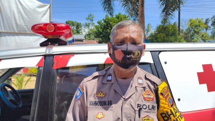 SOSOK AIPTU Mahmuddin, Babinkamtibmas Polsek Air Joman, Rela Ubah Mobil Pribadi Menjadi Ambulans