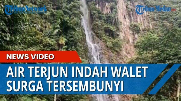 Air Terjun Indah Walet, Sebuah Surga Tersembunyi di Perbatasan Toba, Banyak Spot Foto Menarik