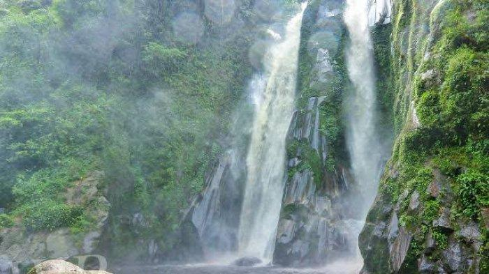 Nikmati Keindahan Lae Mbilulu, Air Terjun Kembar dan Tertinggi di Kabupaten Pakpak Bharat