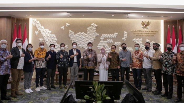 Mencari Solusi Konstruktif Industri Musik, Musisi Indonesia Berdiskusi dengan Menko Airlangga