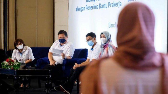 Menko Airlangga: Program Kartu Prakerja Berperan Upskilling SDM dan Ciptakan Lapangan Kerja Baru