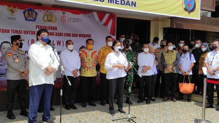 Menko Airlangga Ingatkan Pelaku UMKM di Medan Hindari Rentenir